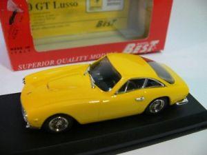 【送料無料】模型車 モデルカー スポーツカー フェラーリ143 best ferrari 250 gtl 1964 stradale gelb 9077