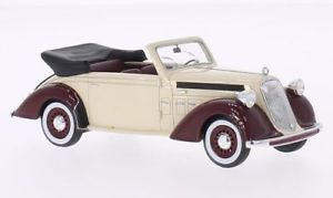【送料無料】模型車 モデルカー スポーツカー カブリオレベージュダークレッドネオsteyr 220 cabriolet , beigedunkelrot, 143, neo