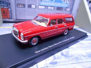 【送料無料】模型車 モデルカー スポーツカー メルセデスベンツコンビビンツレッドレッドステーションワゴンmercedes benz 8 w115 kombi binz rot red station wagon bos sonderpreis 143