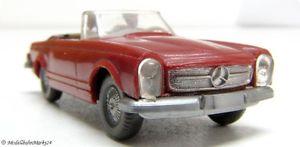 【送料無料】模型車 モデルカー スポーツカー メルセデスwiking 1423 a mercedes 230 sl250 sl cabriolet w 113