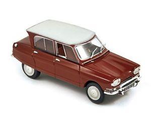【送料無料】模型車 モデルカー スポーツカー シトロエンnorev 143 153507 citron ami 6 1967 cornaline red