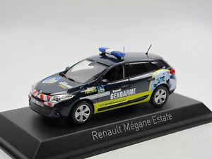 【送料無料】模型車 モデルカー スポーツカー ルノーメガーヌグランドツアーnorev 517648 2012 renault megane grandtour gendarmerie recrutement 143
