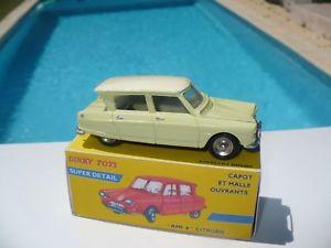 【送料無料】模型車 モデルカー スポーツカー シトロエンdinky toys 557 citron 3 cv ami 6 restauree restored