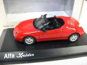 【送料無料】模型車 モデルカー スポーツカー アルファスパイダー143 norev alfa spider cabriolet rot 90100