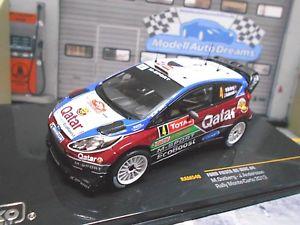 【送料無料】模型車 モデルカー スポーツカー フォードフィエスタモンテカルロラリー#カタールネットワークford fiesta rs wrc rallye monte carlo 2013 4 ostberg qatar ixo 143