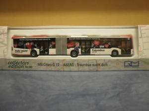 【送料無料】模型車 モデルカー スポーツカー rietze gelenkbus mb o 530g g amp;lsquo;12 aseag traumbus sucht dich 73608