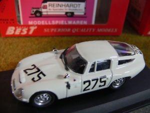 【送料無料】模型車 モデルカー スポーツカー ベストアルファロメオモンツァ#143 best 9060 alfa romeo tz1 monza 63 275