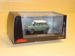 【送料無料】模型車 モデルカー スポーツカー ミニクーパーアーモンドグリーンスケールschuco limited edition 450251700 mini cooper, almond green mastab 143 neuware