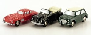 【送料無料】模型車 モデルカー スポーツカー ピッコロschuco piccolo geschenkset iii 50123801