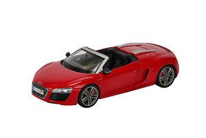 【送料無料】模型車 モデルカー スポーツカー アウディスパイダーレッドschuco 143 450752200 audi r8 spyder 2012 rot neu ovp