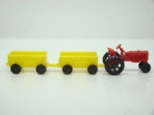【送料無料】模型車 モデルカー スポーツカー ホフランコロシアjouef ho tracteur farmall et ses 2 remorques francorusse ancien