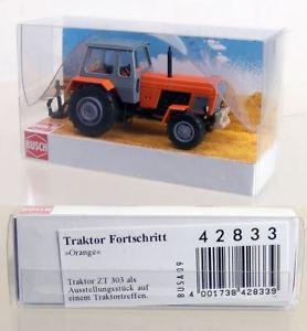 【送料無料】模型車 モデルカー スポーツカー トターat373 busch 187 42833 traktor fortschritt zt 303 aussteller *neu*