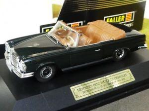 【送料無料】模型車 モデルカー スポーツカー ブラック143 faller mb 280 se cabrio schwarz 043315