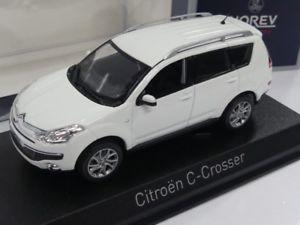 【送料無料】模型車 モデルカー スポーツカー シトロエンホワイト143 norev citroen ccrosser 2007 wei 155654