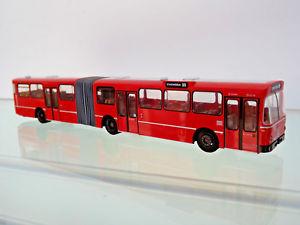 【送料無料】模型車 モデルカー スポーツカー バスバスイギリスクレフェルトrietze 74525 187 bus mb o 305 g standardbus gbr krefeld neu
