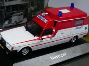 【送料無料】模型車 モデルカー スポーツカー アトラスボルボコレクション143 atlas volvo 264 ambulance collection