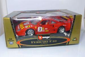 【送料無料】模型車 モデルカー スポーツカー フェラーリburago bburago 3332 118  ferrari f40 1987 rot  ovp