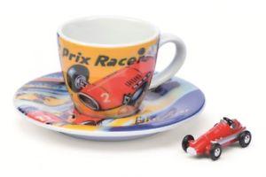 【送料無料】模型車 モデルカー スポーツカー ピッコロエスプレッソカップエディショングランプリレーサーschuco piccolo 09864 espresso tasse edition v grand prix racer neu