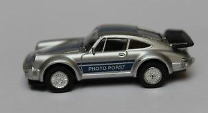 【送料無料】模型車 モデルカー スポーツカー ポルシェモデルポートporsche 911 930  187 von herpa sondermodell photo porst frankenthal silber
