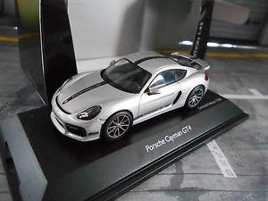 【送料無料】模型車 モデルカー スポーツカー ポルシェケイマングアテマラシルバーシルバーporsche cayman gt4 silber silver 2016 street neu schuco 143