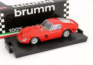 【送料無料】模型車 モデルカー スポーツカー フェラーリハムferrari 250 gto bj 1962 rot 143 brumm