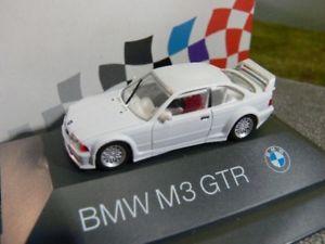 【送料無料】模型車 モデルカー スポーツカー ホワイトボックスモデル187 herpa bmw m3 gtr e36 weiss pcbox sondermodell