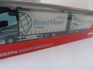 【送料無料】模型車 モデルカー スポーツカー ボルボブレントボリュームトレーラー187 herpa volvo fh gl brantvisser nl volumenhngerzug 304863