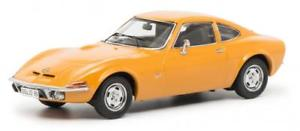 【送料無料】模型車 モデルカー スポーツカー オペルグアテマラオレンジschuco 143 opel gt, orange 450256700