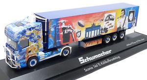 【送料無料】模型車 モデルカー スポーツカー スカニアセミトレーラトラックシューマッハ