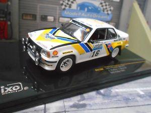 【送料無料】模型車 モデルカー スポーツカー オペルアスコナラリー#マクレーディーラーチームシェルネットワークopel ascona b 400 rallye rac 1981 16 mcrae dealer team shell ixo 143
