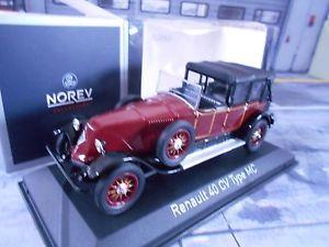 【送料無料】模型車 モデルカー スポーツカー ルノービンテージレッドブラックrenault 40cv 40 cv mc 1924 oldtimer gaston dourmergue rot schwarz neu norev 143
