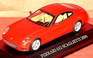 【送料無料】模型車 モデルカー スポーツカー フェラーリクーペレッドレッドネットワークferrari 612 scaglietti coupe 200410 rot red 143 ixo fer009