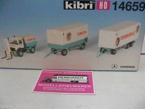 【送料無料】模型車 モデルカー スポーツカー フロントトラック187 kibri 14659 mb unimog m frontstapler zircuswagen