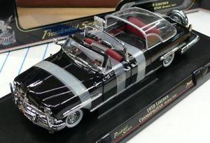 【送料無料】模型車 モデルカー スポーツカー リンカーンコスモポリタンバブルトップシリーズシグネチャー124me lincoln 1950 cosmopolitan bubble top presidential series road signature
