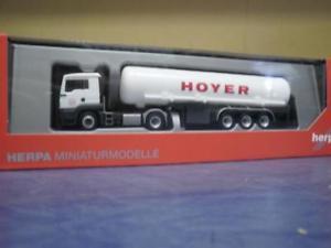 【送料無料】模型車 モデルカー スポーツカー トラックマンガソリンタンクherpa lkw man tgs l e6c benzintanksz hoyer lng 308618