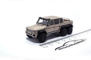 【送料無料】模型車 モデルカー スポーツカー ボスモデルメルセデス×メタリックベージュ87275 bosmodels mercedes amg g 63 6x6 metallicbeige 2013 187