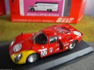 【送料無料】模型車 モデルカー スポーツカー デイトナアルファロメオ#143 best 9200 alfa romeo 332 daytona 1968 casonibiscardi 22