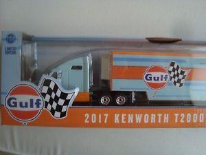 【送料無料】模型車 モデルカー スポーツカー ミニチュアminiature 164 semi remorque kenworth 2017 t 2000 transporter gulf