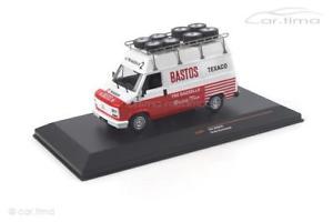 【送料無料】模型車 モデルカー スポーツカー フィアットラリーネットワークモデルクラシックfiat ducato assistance rally bastos ixo models 143 clc301