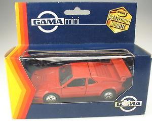 【送料無料】模型車 モデルカー スポーツカー ガマミニレースバージョンモデルカーgama mini 891 bmw m1 rennausfhrung e26 rot 143 in ovp 1109 model car