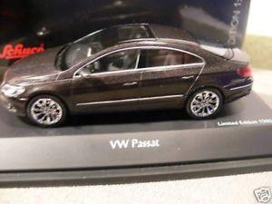 【送料無料】模型車 モデルカー スポーツカー 143 schuco 07251 vw passat coupe anthrazit