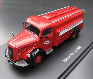 【送料無料】模型車 モデルカー スポーツカー エッソガソリンメルセデス#esso tankwagen mercedes l 6600 schuco 143 ovp246