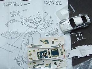 【送料無料】模型車 モデルカー スポーツカー モデルキットポルシェルマン#hamore 143 model kit porsche 934 lemans 1977 58 sehr selten