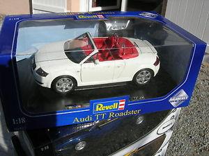 【送料無料】模型車 モデルカー スポーツカー アウディロードスターrevell 118 audi tt roadster