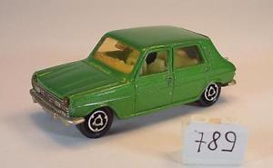 【送料無料】模型車 モデルカー スポーツカー メタリックグリーン#majorette 160 nr 234 simca 1100 grnmetallic nr 3 789