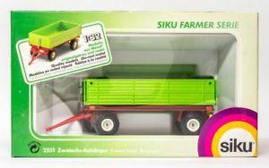 【送料無料】模型車 モデルカー スポーツカー ファーマーアクスルトレーラーsiku farmer 2551 zweiachs anhnger fr traktor 132 ovp 5102165