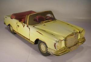 【送料無料】模型車 モデルカー スポーツカー メルセデスベンツ#maisto 118 mercedes benz 280se 1967 scheunenfund 1786