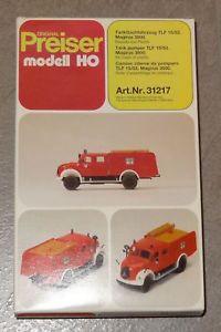 【送料無料】模型車 モデルカー スポーツカー タンクキットd564 preiser 31217 tanklschfahrzeug tlf 1553 magirus 3500 bausatz 187