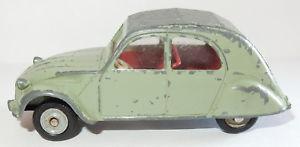 【送料無料】模型車 モデルカー スポーツカー フランスボックスシトロエンdinky toys citroen 2cv made in france meccano vert pale 1962 143 ref 558 no box