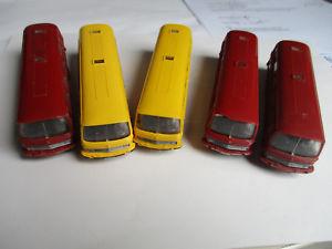 【送料無料】模型車 モデルカー スポーツカー メルセデスバスコレクションモデルwiking h0 mercedes o 302 bus konvolutsammlung, 5 modelle